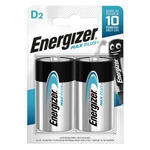 Bateria ENERGIZER Max Plus, D, LR20, 1,5V, 2szt.