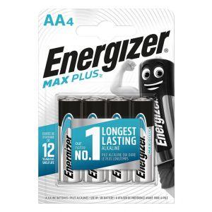 Bateria ENERGIZER Max Plus, AA, LR6, 1,5V, 4szt.