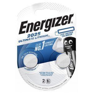 Bateria specjalistyczna ENERGIZER, CR2025, 3V, 2szt.