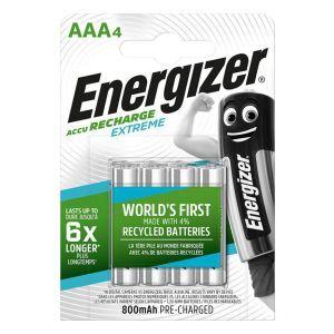 Akumulator ENERGIZER Extreme, AAA, HR03, 1,2V, 800mAh, 4szt.