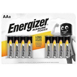 Bateria ENERGIZER Alkaline Power, AA, LR6, 1,5V, 8szt.