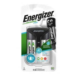 Ładowarka ENERGIZER Pro Charger + 4 szt. akumulatorków Power Plus AA