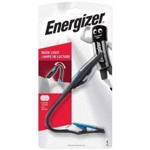 Latarka ENERGIZER Booklite Led + 2szt. baterii CR2023, czarna