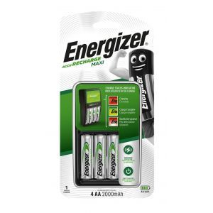 Ładowarka ENERGIZER Maxi + 4 szt. akumulatorków Power Plus AA