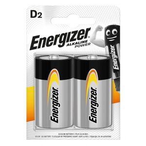 Bateria ENERGIZER Alkaline Power, D, LR20, 1,5V, 2szt.