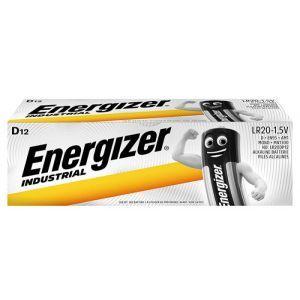 Bateria ENERGIZER Industrial, D, LR20, 1,5V, 12szt.