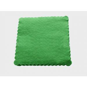 Serwetki 15x15 ząbkowane zielone, opakowanie 200 sztuk