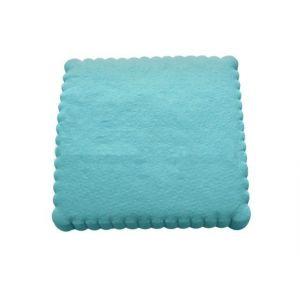 Serwetki 15x15 ząbkowane błękitne, opakowanie 200 sztuk
