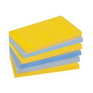 Bloczek samoprzylepny POST-IT® Super sti cky (655-6SS-NY), 127x76mm, 6x90 kart.,  op. 1 szt.