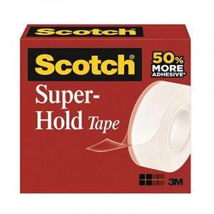 Taśma biurowa SCOTCH® Super-Hold, (700K) , super mocna, 19mm x 25,4m, transparentna op. 1 sztuka