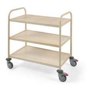 Amerbox Wózek do serwowania w okleinie drewnianej ciemny - 810149