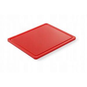 Haccp cutting board - Gn 1/2 Red