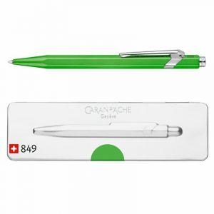 Długopis CARAN D`ACHE 849 Pop Line Fluo, M, w pudełku, zielony op. 1 szt.