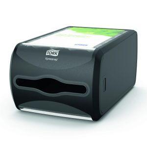 TORK countertop napkin dispenser N4 Xpressnap® black, horizontal