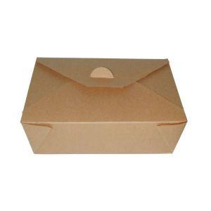 Pudełko brązowe TAKEOUT MINI BOX 250 ml 110x90x35mm op. 50 sztuk