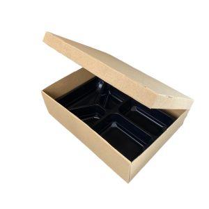 Karton transportowy cateringowy 35x26cm op. 20szt, 350x260x100mm, TnG