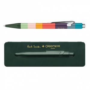 Długopis CARAN D`ACHE 849 Paul Smith #3  Racing Green, M, w pudełku, ciemnozielon op. 1 szt.