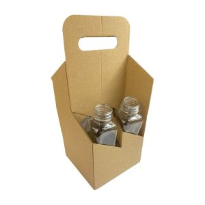 Nosidełko na 4 butelki 0,5l składane op.50szt