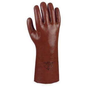 Rękawice robocze PCV, powlekane, 45cm