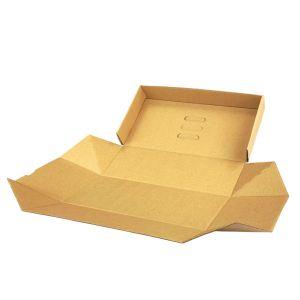 Pudełko BURGER XL zestaw 13x26x10cm brązowe, op.100szt. TnG