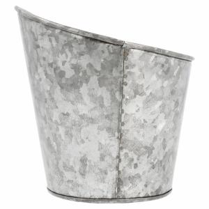 Galwanizowany stalowy kubek śr.12,7xh.13,5cm