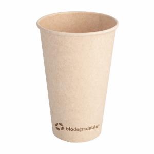 Kubek z masy celulozowej 480ml, śr.9xh.13,5cm, biodegradowalne, 16oz op. 50 sztuk