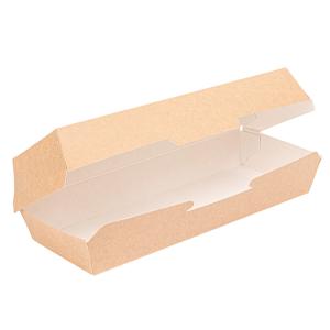 Pudełko panini kraft 26,5x12,2x7cm op.50szt. (k/6)
