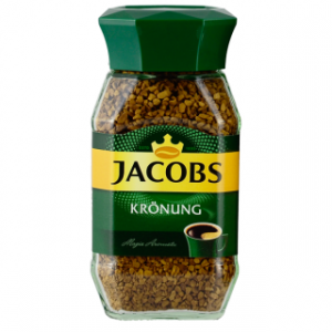 Kawa JACOBS KRONUNG, rozpuszczalna, 200  g op. 1 szt.