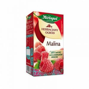 Herbata HERBAPOL Herbaciany Ogród, 20 torebek, malinowa op. 1 szt.