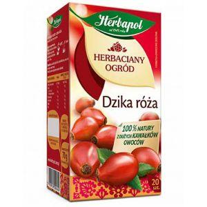Herbata HERBAPOL Herbaciany Ogród, 20 torebek, dzika róża op. 1 szt.