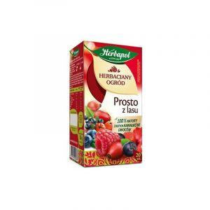 Herbata HERBAPOL Herbaciany Ogród, 20 torebek, prosto z lasu op. 12 szt.