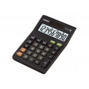 Kalkulator biurowy, CASIO MS-10B-S,12-cyfrowy,103x147mm, czarny op. 1 szt.