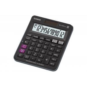 Kalkulator biurowy, CASIO MJ-120D PLUS, 12-cyfrowy, 126,5x148mm, czarny op. 1 szt.