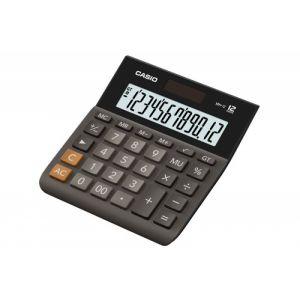 Kalkulator biurowy, CASIO MH-12BK-S,12-cyfrowy, 127x136,5mm, czarny op. 1 szt.