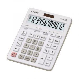 Kalkulator biurowy, CASIOFX-12B-WE,12-cyfrowy, 159x207,5mm ,biały op. 1 szt.