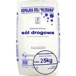 Sól kamienna drogowa 25kg