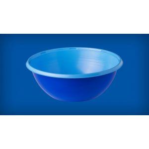 Miska BICOLOR, 10 szt. 380ml niebieski/błękit