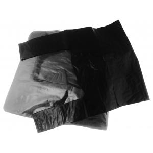 Reklamówki LDPE 28/50cm czarne, opakowanie 100 szt.