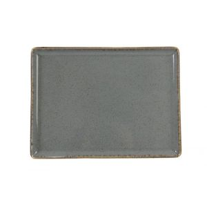 Fine Dine Rectangular tray Stone 350x260 mm - code 04ALM002456