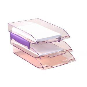 Dystansery do szufladek Cep ICE 238x61x22/2szt. jasnoróżowe