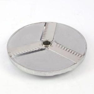 Tarcza do plastrów karbowanych 2 mm z 2 nożami prostymi - kod 1010295
