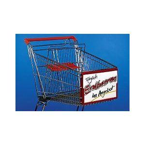 Ramka do wózków sklepowych