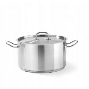 Kitchen Line medium pot with lid 9L