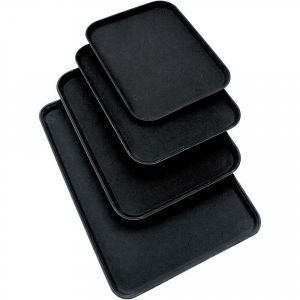 Non-slip waiter's tray 510x380 mm