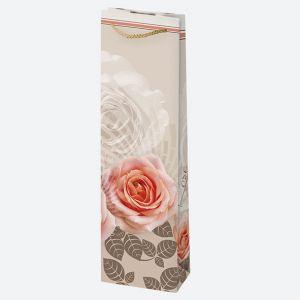 Torebki ozdobne T12 ogólne zestaw 44 12/40cm, op. 10szt (kwiaty-lawenda) (40)