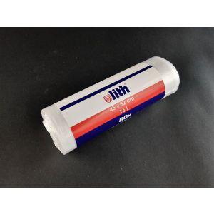 Worki na odpady HDPE białe 16l białe 45x52cm, grubość 6 mikronów - hotelowe rol. 50 sztuk