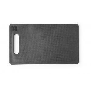 Deska do krojenia z uchwytem czarna 250x150x(H)10 mm