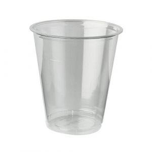Kubki PLA fi 95mm 300ml transparent  op.50szt.biodegradowalne do zimnych napojów (k/24) 95A/300