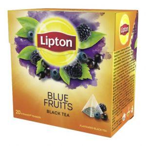 Tea LIPTON, pyramid bags, 20 bags, berry fruits
