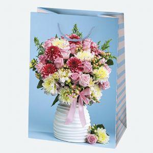 Torebki ozdobne T5 ogólne zestaw 163 23/32cm, op. 10szt (kwiaty) (30)
